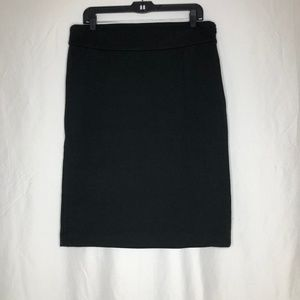 Premise Ponte Black Pencil Skirt Size 14